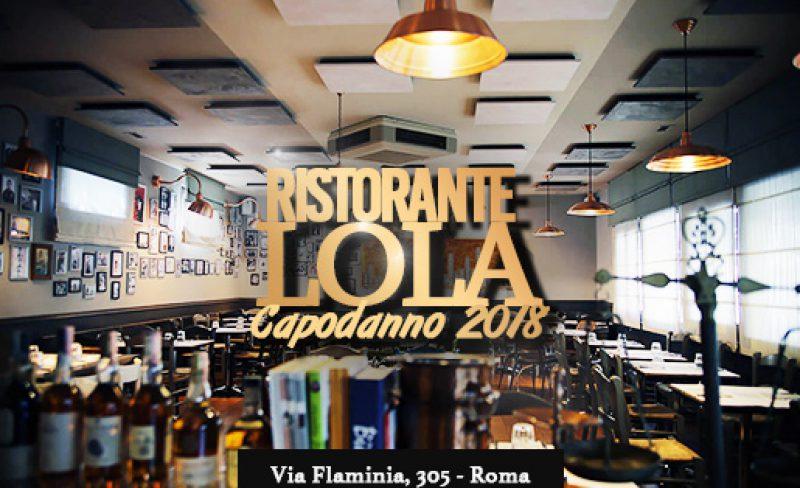 Capodanno Lola Ristorante 2018